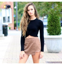 Shorts 58 Corduroy Brown Skort