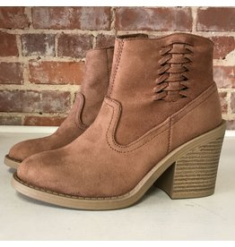 Shoes 54 Fall Strides Braided Rust Bootie