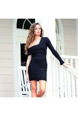 Dresses 22 Night Fall Suede LBD