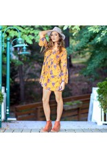 Dresses 22 Fall Floral Chiffon Dress