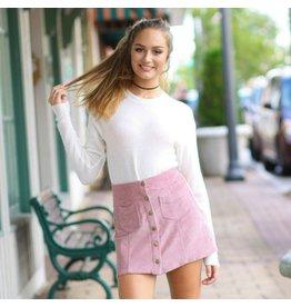 Skirts 62 Trend Setter Rose Cordoroy Skirt