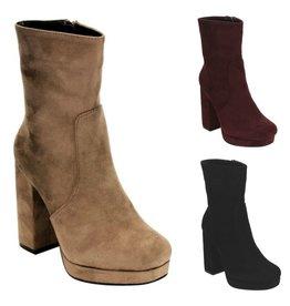 Shoes 54 Hayden Chunky Heel Fall Midi Boot