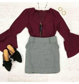 Skirts 62 Plaid Perfection Gingham Skirt