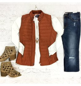 Outerwear Layer Up Fall Vest