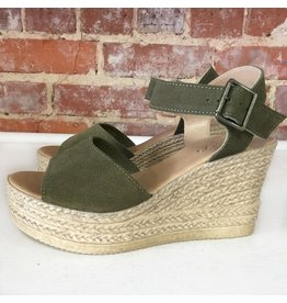 Shoes 54 Fall Strides Olive Espadrille