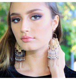 Jewelry 34 Seed Bead Fringe Earrings