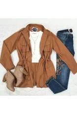 Outerwear Fall Camel Parka