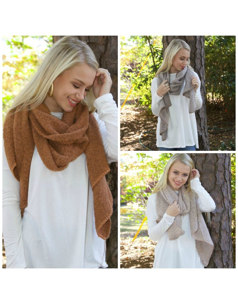 Accessories 10 Super Soft Solid Scarf