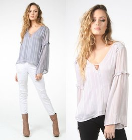 Tops 66 Shimmery Holiday Top