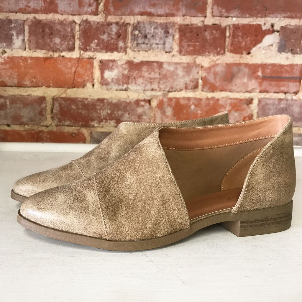 Shoes 54 Free Style Taupe Booties