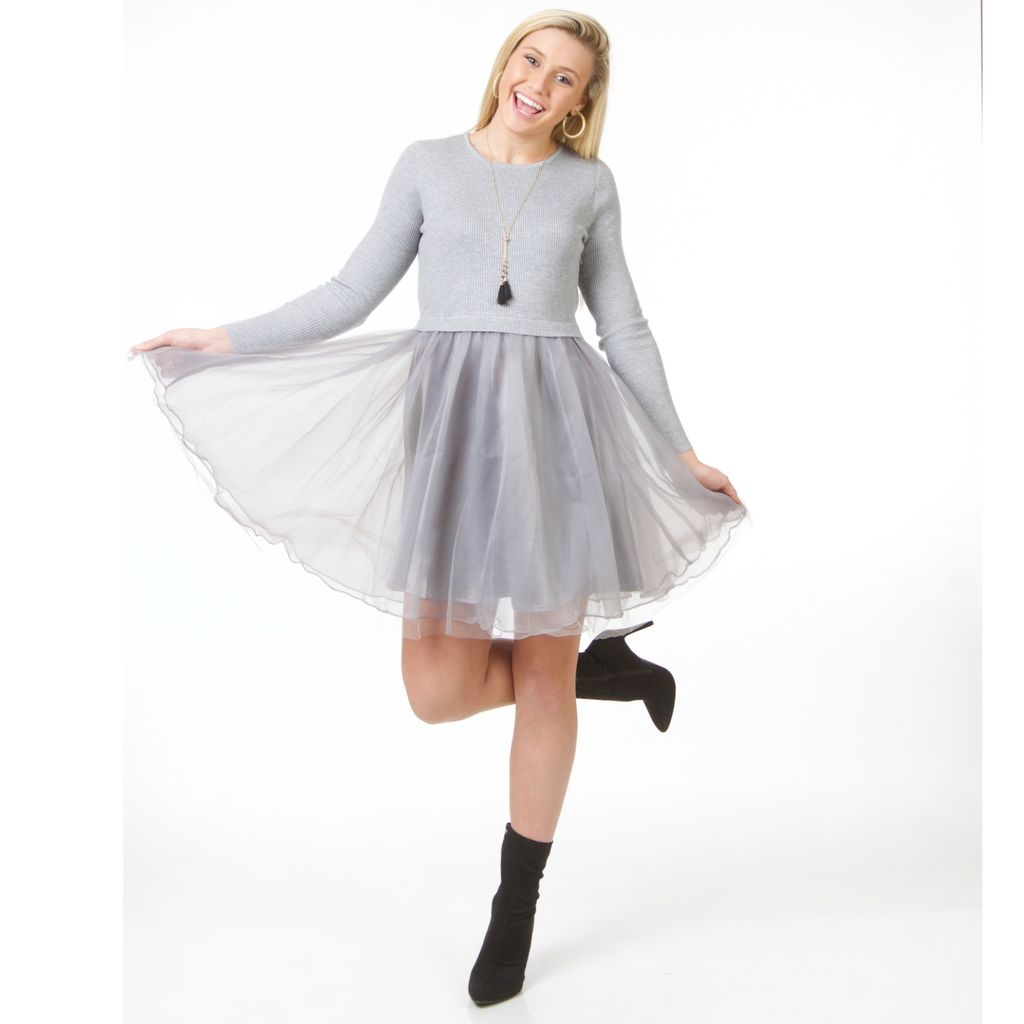 Dresses 22 Holiday Charm Tulle Dress