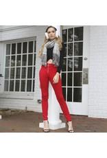 Pants 46 O RIng Festive Red Pants