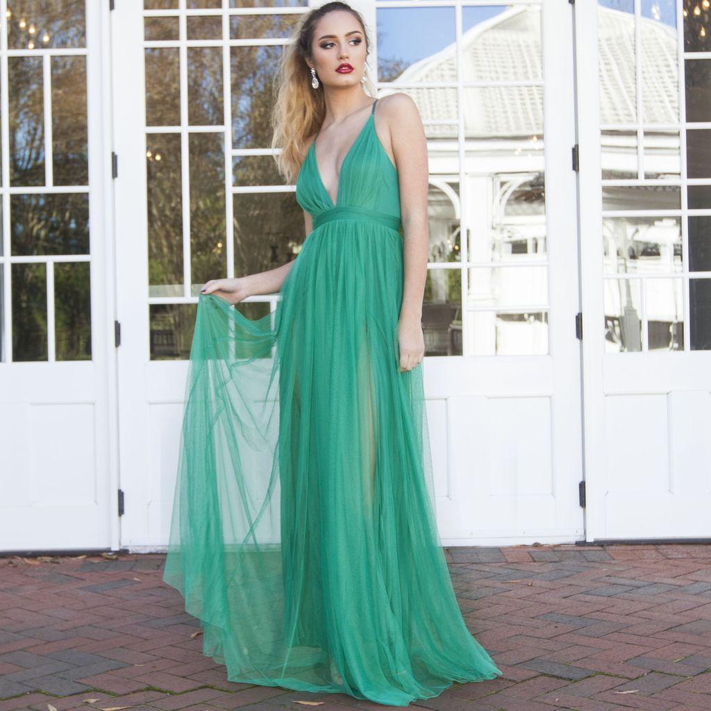 Dresses 22 Green Tulle Dress