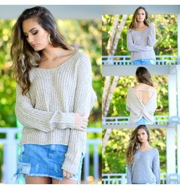 Tops 66 Totally Twisted Fall Sweater