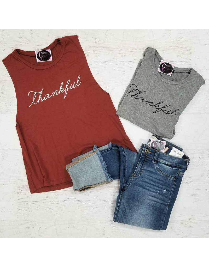 Tops 66 Thankful Tank