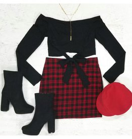 Skirts 62 Holiday Plaid Skirt