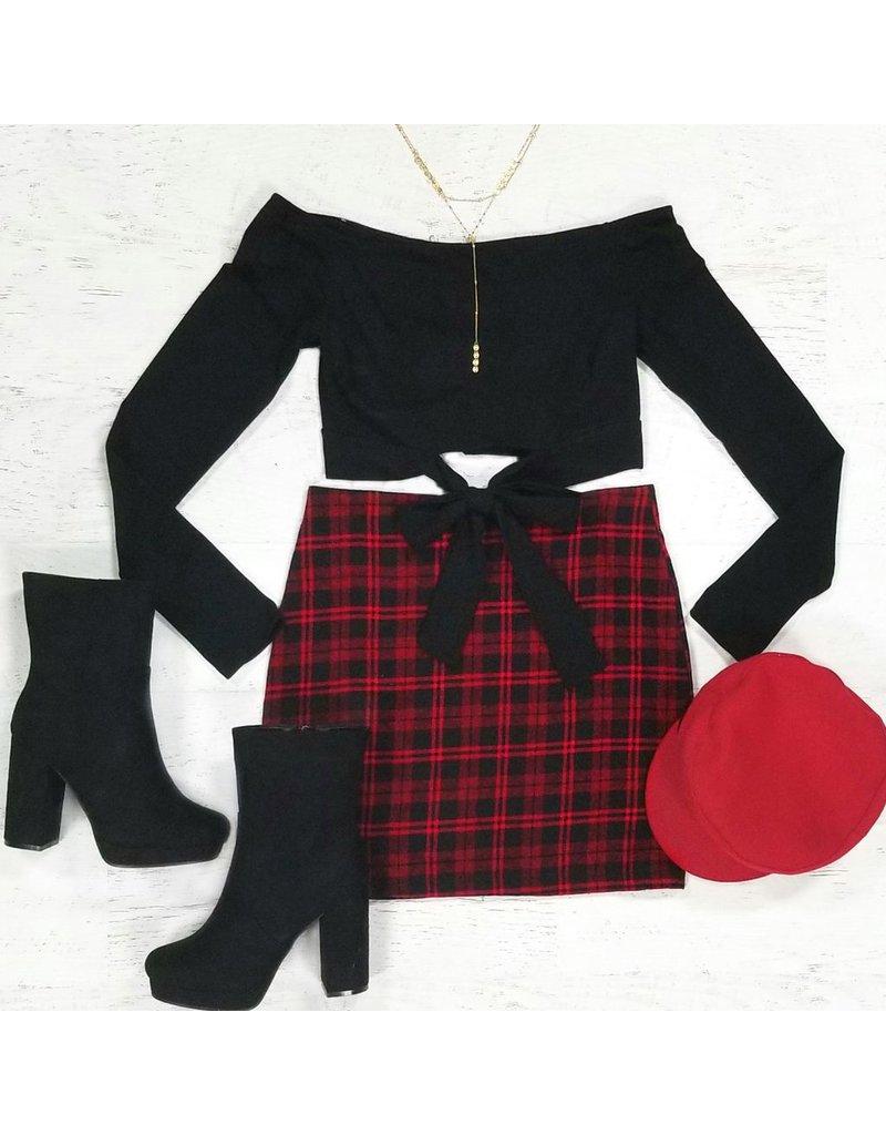 Skirts 62 Holiday Plaid Skirt