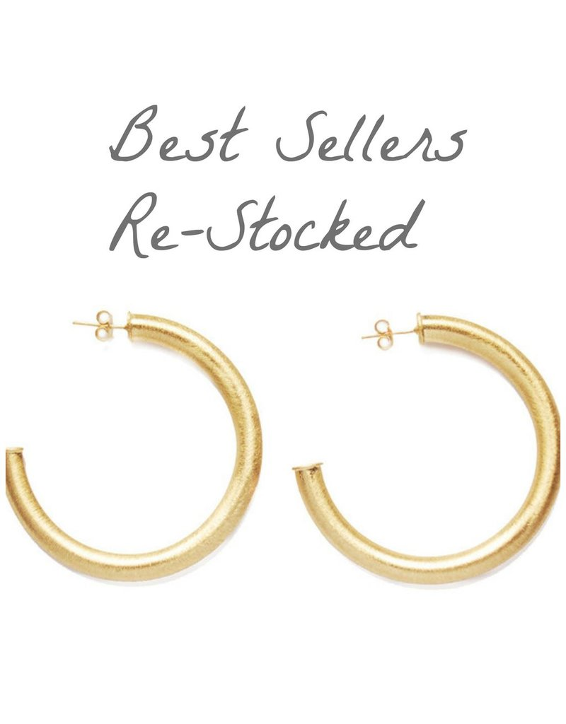 Jewelry 34 Gold Hoop Earrings