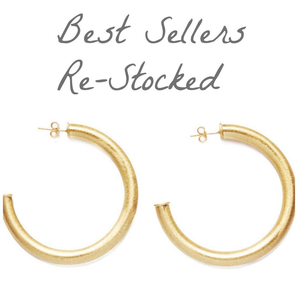 Jewelry 34 Gold Hoop Earrings