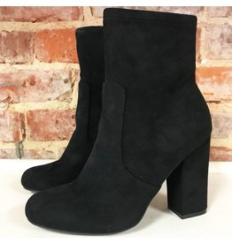 Shoes 54 Best Boot Forward Black Suede Midi Boot