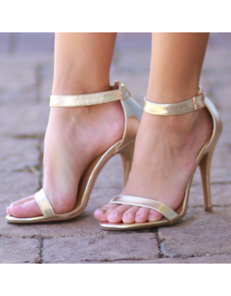 Shoes 54 Head Over Heels Gold