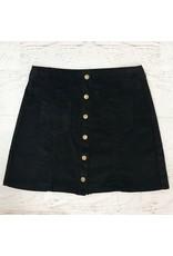 Skirts 62 Trend Setter Black Corduroy Skirt
