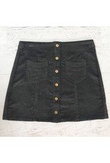Skirts 62 Trend Setter Grey Cordoroy Skirt