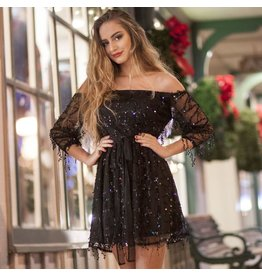 Dresses 22 Festive Party Sequin LBD