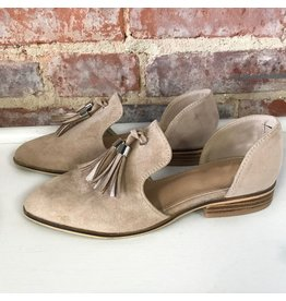 Shoes 54 Alaina Beige Tassel Flat