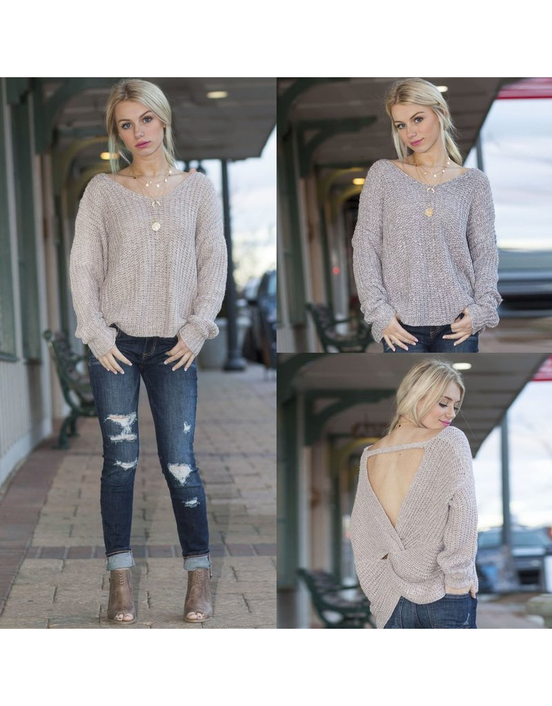 Tops 66 Totally Twisted Winter Sweater