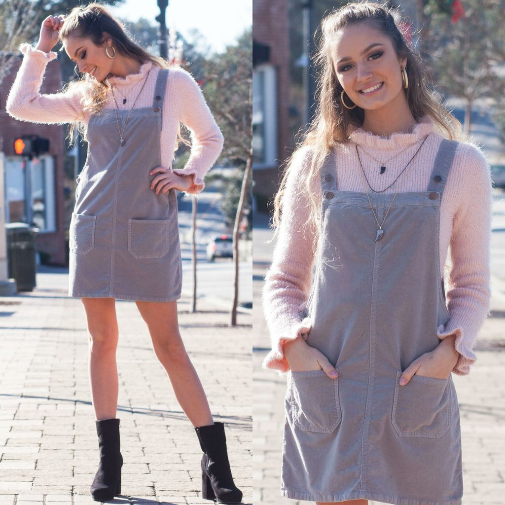 Dresses 22 Corduroy Overall Dress