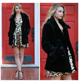 Outerwear Fabulous Winter Black Coat