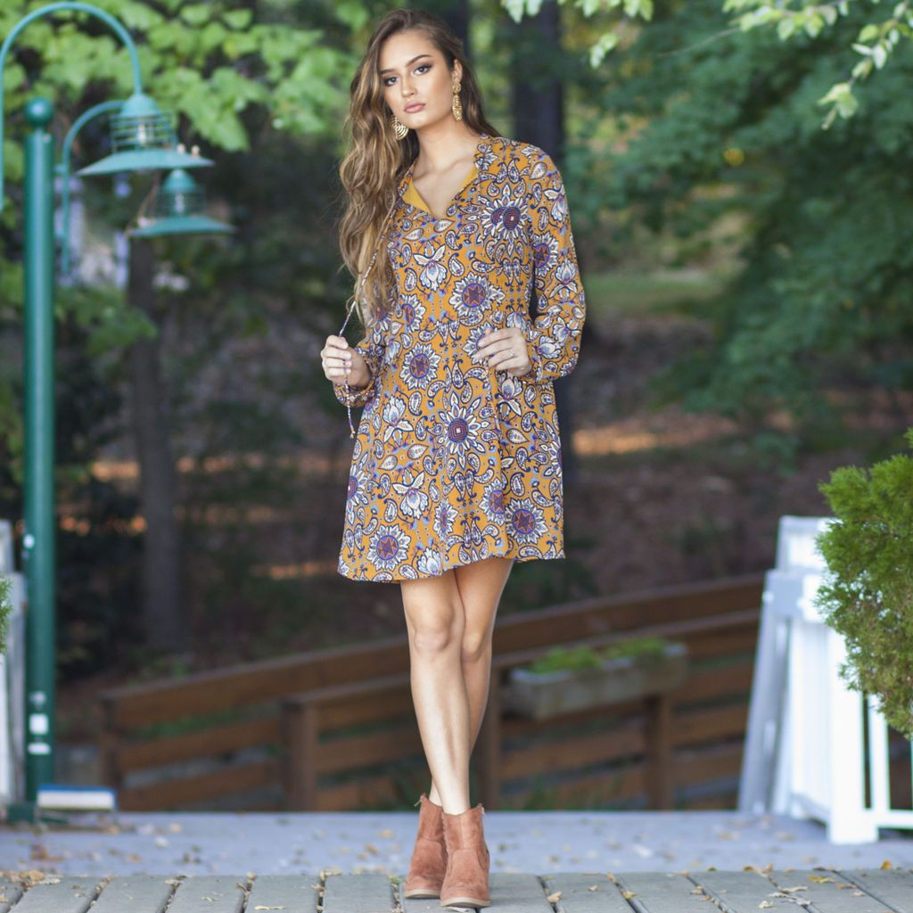Dresses 22 Free To Be Me Floral Dress