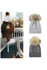 Accessories 10 Winter Fur Pom Pom Hat