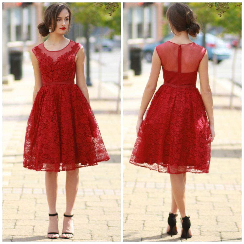 Dresses 22 Fun & Flirty Burgundy Dress