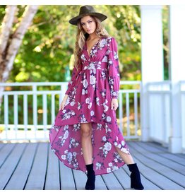 Rompers 48 Shape Of You Floral Maxi Romper