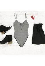 Tops 66 GNO Front Tie Bodysuit