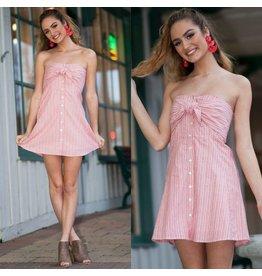 Dresses 22 Sweet Love Red Stripe Dress