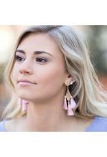 Jewelry 34 Tassel & Triangle Earrings
