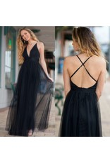 Dresses 22 Tulle Occasion Black Dress