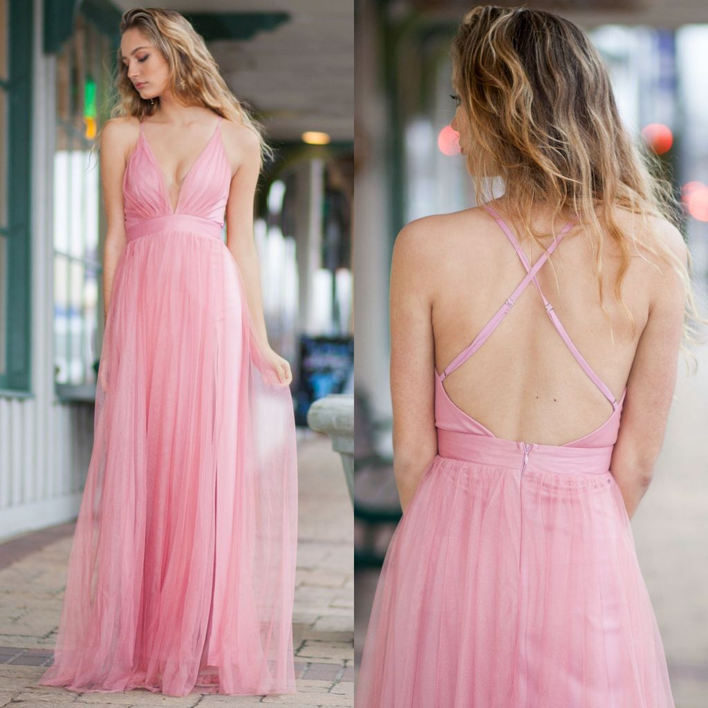 Dresses 22 Tulle Occasion Rose Dress