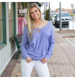 Tops 66 Soft Ultra Violet Sweater