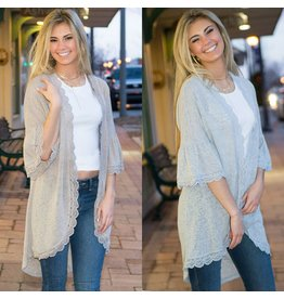 Tops 66 Spring Lace Cardigan