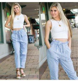 Pants 46 Feelin' Stripes Paper Bag Pants
