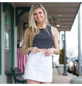 Skirts 62 White Denim Skirt