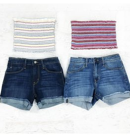 Shorts 58 Cuffed Denim Shorts