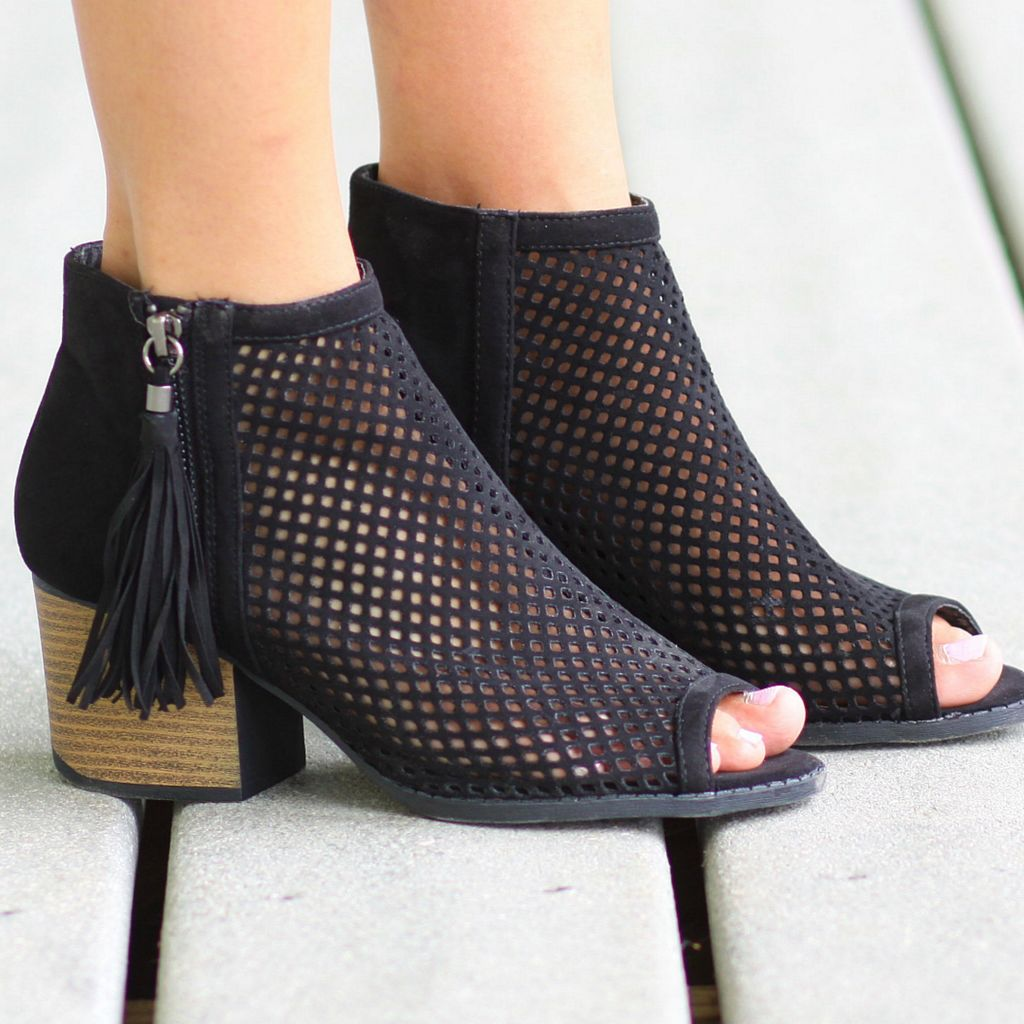 Shoes 54 Core Group Tassel Bootie