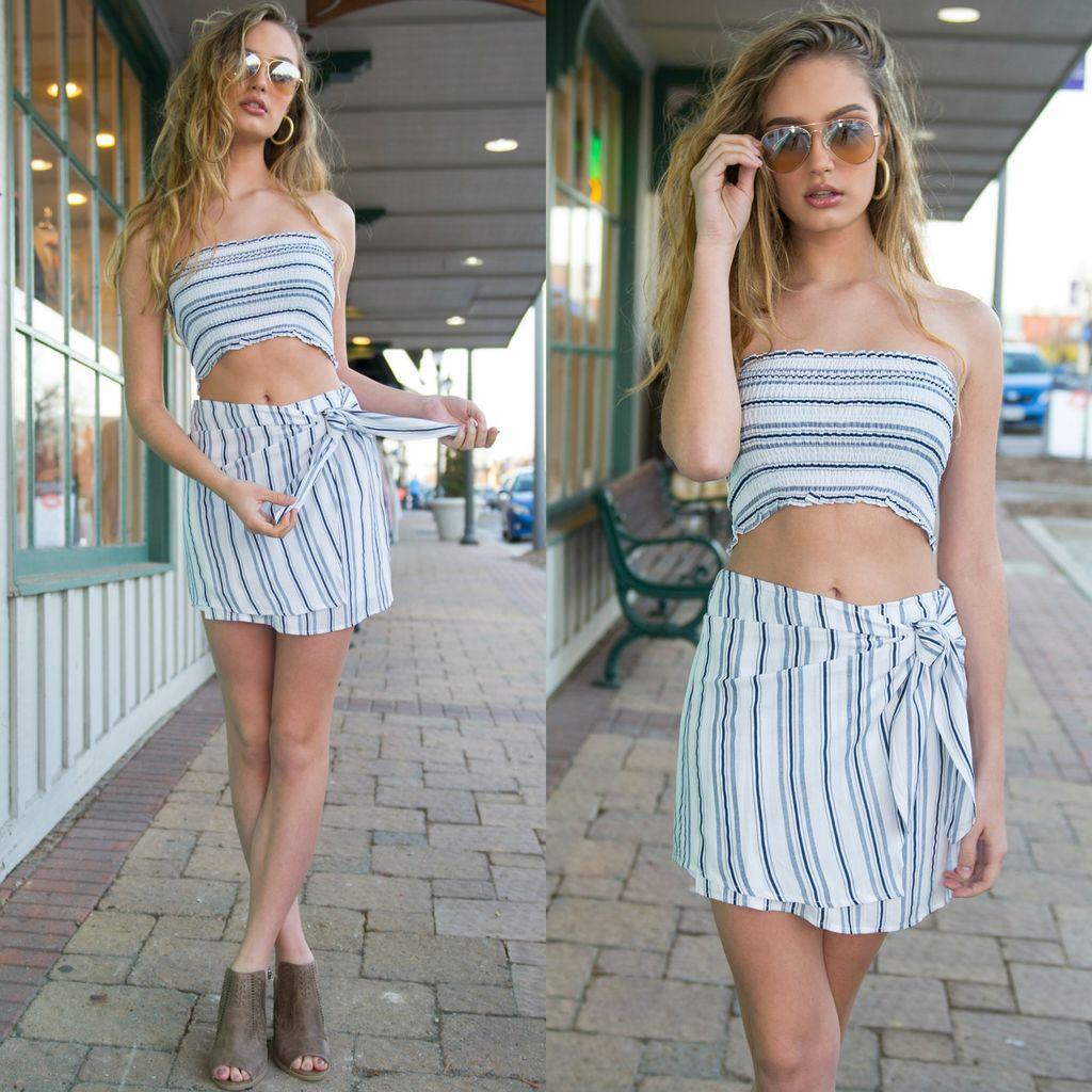 Skirts 62 Spring Dream White Wrap Skirt
