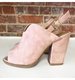 Shoes 54 Fresh Pick Mule Sling Back Blush Sandal