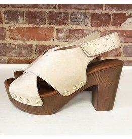 Shoes 54 Sunny Days Beige Slingback Sandal